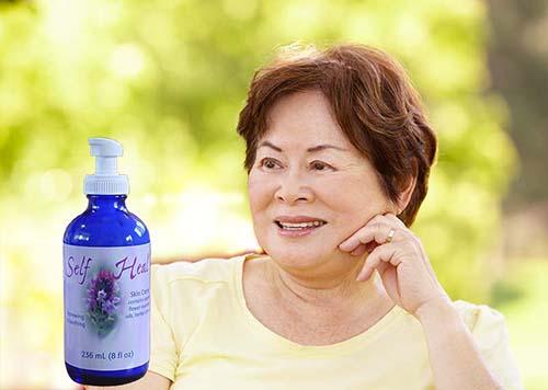 Self-Heal Crème Cleared Stress-Induced Eczema