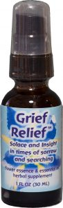 1 oz spray bottle of Grief Relief
