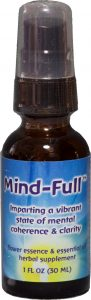 1 oz spray bottle of Mind-Full