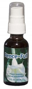 bottle of peace-full formula