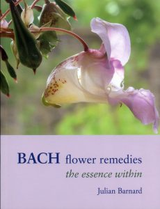 book cover bach flower remedies the essence within