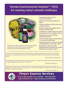 yarrow environmental solution sales sheet